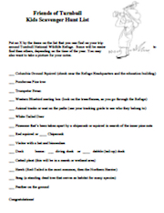 TNWR Kids Scavenger Hunt